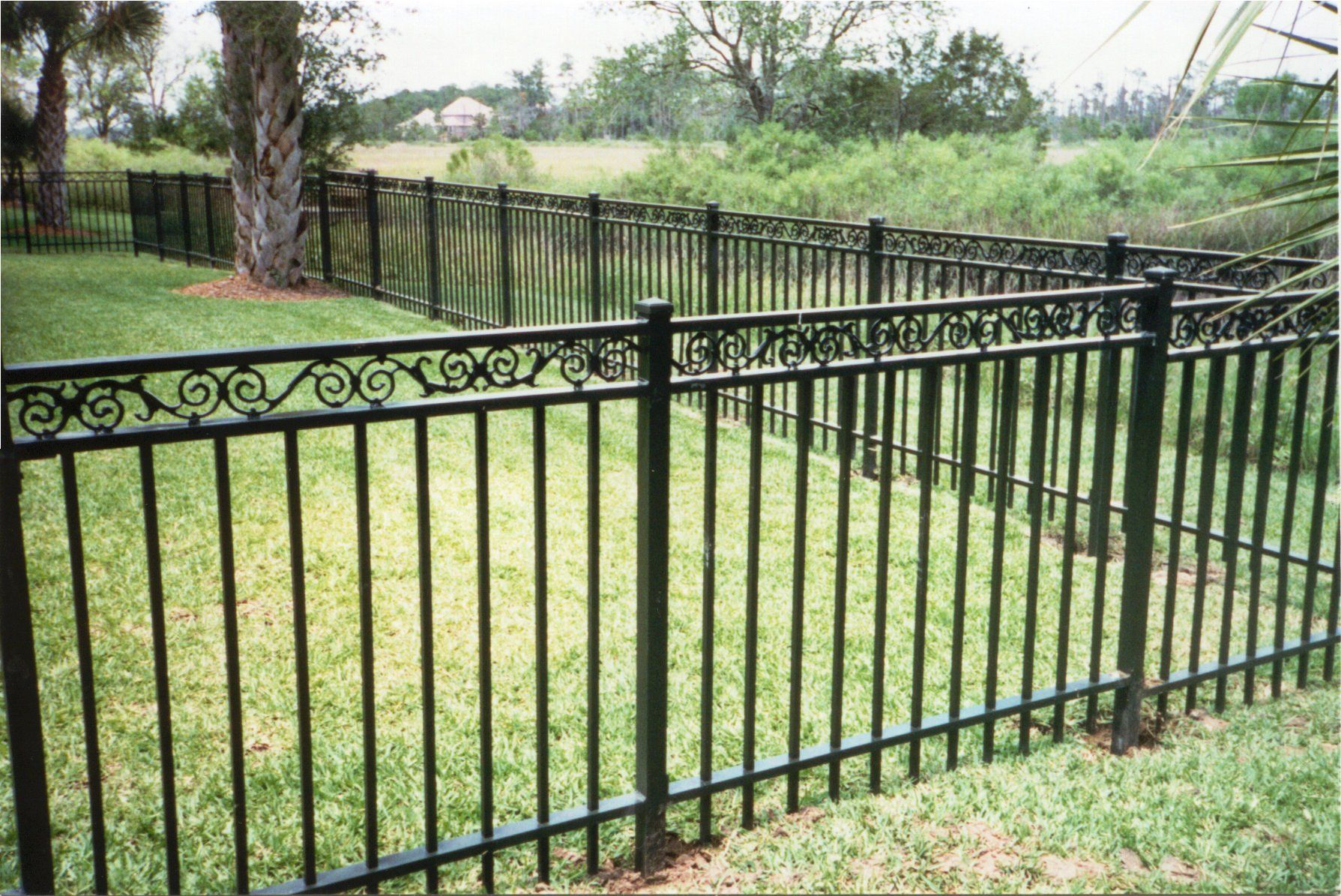 Ornamental Aluminum & Steel Fence
