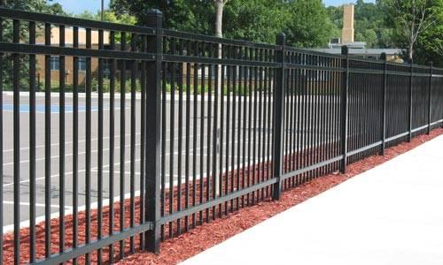 Steel & Aluminum Fence