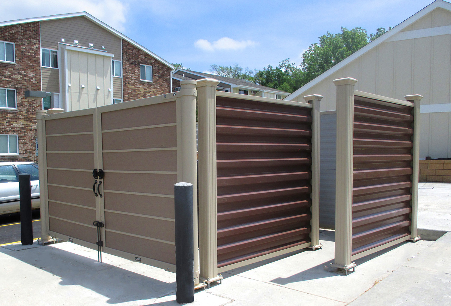 Dumpster Enclosures Installation