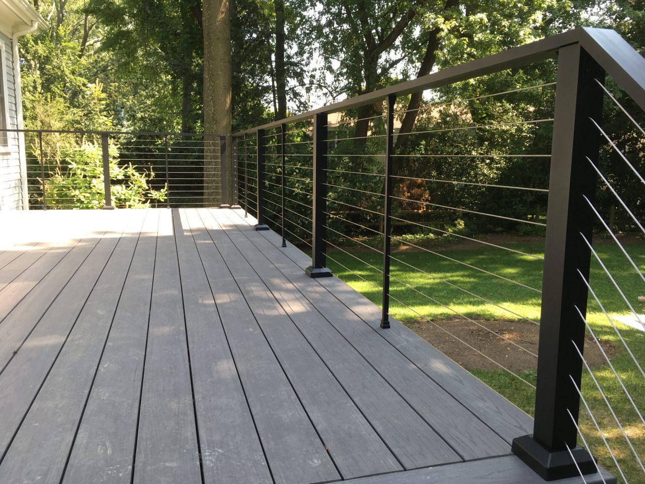 Aluminum Porch Hand Railing